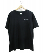 THE NERDYS(ザナーディーズ)の古着「刺繍Tシャツ」|ブラック