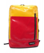 FREITAG(フライターグ)の古着「ユーズド加工バックパック」|レッド×イエロー