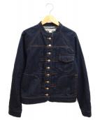 si-si-si(スースースー)の古着「デニムジャケット」|ネイビー