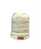 Supreme(シュプリーム)の古着「バスケットウィーブビーニー」|ホワイト