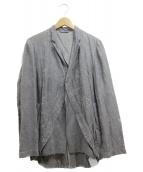 BRU NA BOINNE(ブルーナボイン)の古着「刺繍ジャケット」|グレー