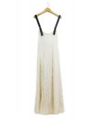 Ameri VINTAGE(アメリビンテージ)の古着「ジャンパースカート」 ベージュ