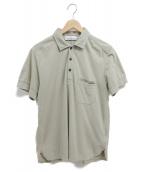 STONE ISLAND(ストーンアイランド)の古着「ポロシャツ」|ベージュ