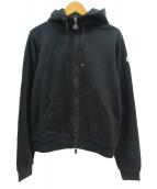 MONCLER(モンクレール)の古着「ジップパーカー」|ブラック