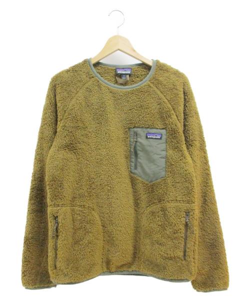 Patagonia(パタゴニア)Patagonia (パタゴニア) フリースプルオーバージャケット ブラウン サイズ:S 25895FA19 ロスガトスクルー LOS GATOS CREWの古着・服飾アイテム