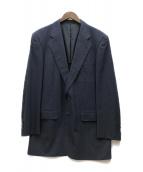 ()の古着「ウールシルクブレザージャケット」|ネイビー