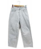 BRU NA BOINNE(ブルーナボイン)の古着「マーチデニムパンツ」|インディゴ