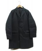 DESCENTE(デサント)の古着「ダウンチェスターコート」 ブラック