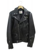 Lewis Leathers(ルイスレザーズ)の古着「サイクロンダブルライダースジャケット」|ブラック