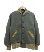 SKOOKUM(スクーカム)の古着「ウールスタジャン」|カーキ