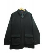 .efiLevol(エフィレボル)の古着「メルトンハンティングジャケット」|グリーン