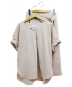 TONAL(トーナル)の古着「セットアップブラウス」|ピンク