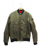 DSQUARED2(ディースクエアード)の古着「MA-1ジャケット」|カーキ