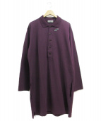 YohjiYamamoto pour homme(ヨウジヤマモトプールオム)の古着「ビックポロシャツ」|パープル