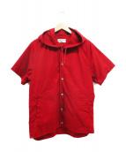 SASSAFRAS(ササフラス)の古着「フードシャツ」|レッド