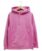 Supreme(シュプリーム)の古着「tonal embroidered hooded sweat」|ピンク