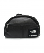 SUPREME×THE NORTH FACE()の古着「Leather Roo II Lumbar Pack」|ブラック