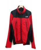 THE NORTH FACE(ザノースフェイス)の古着「Alpine Softshell Jacket」 レッド