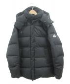 Pyrenex(ピレネックス)の古着「ダウンコート」|ブラック