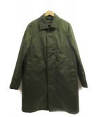 EDIFICE(エディフィス)の古着「中綿ライナーステンカラーコート」 カーキ