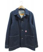 HEADLIGHT(ヘッドライト)の古着「BLUE DENIM WW II WORK COAT」 インディゴ
