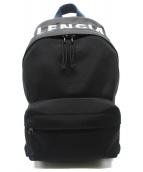BALENCIAGA(バレンシアガ)の古着「WHEEL BACKPACK S」 ブラック