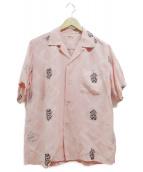 Sun Surf(サンサーフ)の古着「アロハシャツ」 ピンク