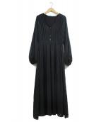 SLOBE IENA(イエナスローブ)の古着「ブラウスワンピース」|ブラック