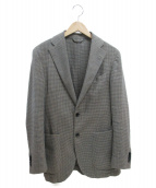 L.B.M.1911(エルビーエム1911)の古着「2Bシングルテーラードジャケット」 グレー