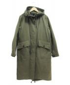 MHL(エムエイチエル)の古着「PROOFED COTTON DRILL COAT」|カーキ
