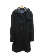BURBERRY LONDON(バーバリーロンドン)の古着「ダッフルコート」|ブラック