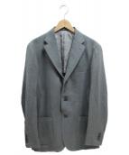 RING JACKET(リングジャケット)の古着「BALLONファブリックテーラードジャケット」|グレー