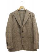 MACKINTOSH(マッキントッシュ)の古着「ディプライツィードチェックジャケット」 ブラウン