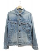 BLUE BLUE(ブルーブル)の古着「デニムジャケット」|ブルー