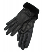 UGG(アグ)の古着「CLASSIC LEATHER SMART GLOVE」|ブラック