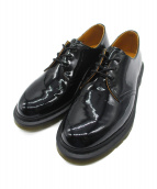 Dr.Martens × BEAMS(ドクターマーチン×ビームス)の古着「パテント3ホールシューズ」|ブラック