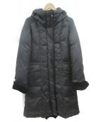 VICKY(ビッキー)の古着「切替ダウンコート」|ブラック