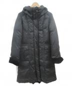 VICKY(ビッキー)の古着「切替ダウンコート」 ブラック