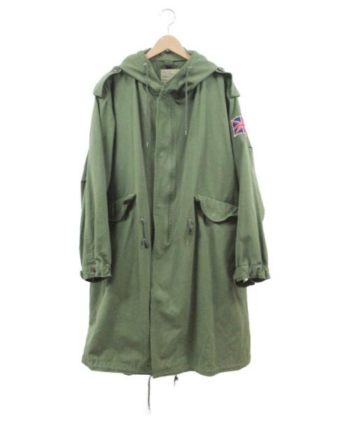 C.A.B.CLOTHING(キャブクロージング)C.A.B.CLOTHING (キャブクロージング) モッズコート カーキ サイズ:Lの古着・服飾アイテム