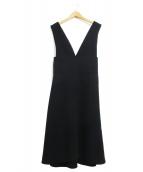 DRESSTERIOR(ドレステリア)の古着「ダブルクロスジャンパースカート」|ブラック