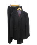 BURBERRY BLACK LABEL(バーバリーブラックレーベル)の古着「3Bスーツ」 ブラック