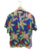 COOTIE PRODUCTIONS(クーティー プロダクツ)の古着「アロハシャツ」|ブルー