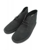 CLARKS(クラークス)の古着「デザートブーツ」|ブラック