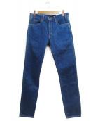 LEVIS VINTAGE CLOTHING(リーバイス ヴィンテージ クロージング)の古着「1969復刻606デニムパンツ」|ブルー