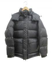 BEAMS(ビームス)の古着「ナイロンベーシックダウンジャケット」|ブラック