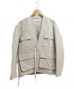 UMIT BENAN(ウミットベナン)の古着「MILITARY KIMONO」|アイボリー