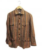 Salvatore Piccolo(サルヴァトーレ・ピッコロ)の古着「リネンシャツ」 ベージュ
