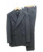 PRADA(プラダ)の古着「ダブルジャケットセットアップスーツ」|グレー