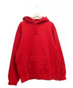 Supreme(シュプリーム)の古着「Quilted Hooded Sweatshirt」|レッド