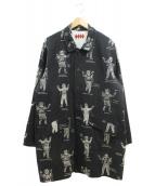 WEIRDO(ウィアード)の古着「WEIRDO COSTUMES - COAT」|ブラック